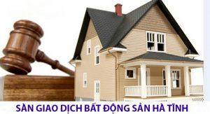 Sàn giao dịch bất động sản Hà Tĩnh